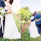 Outdoor Spring Vineyard Wedding in Tennessee