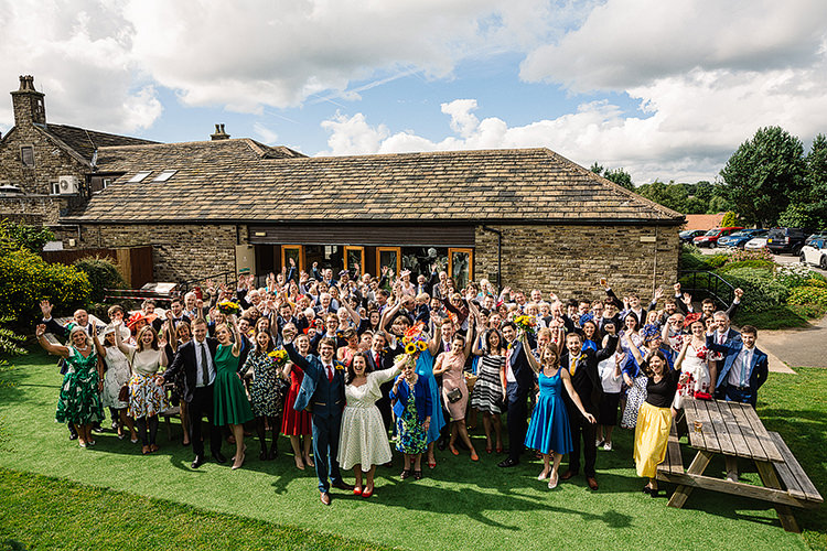 Fun Multicoloured Party Wedding http://www.pauljosephphotography.co.uk/