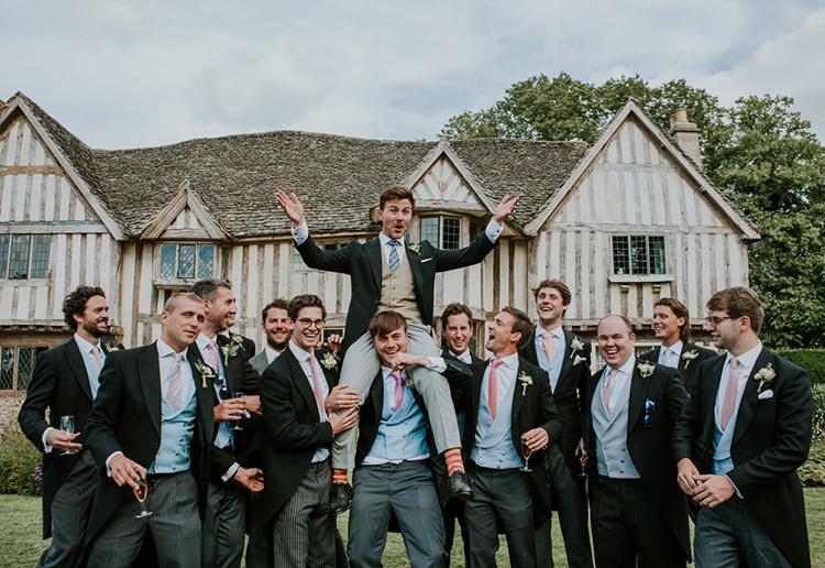 Traditional Groom Groomsmen Suits Beautiful Classic English Countryside Wedding http://jenmarino.com/