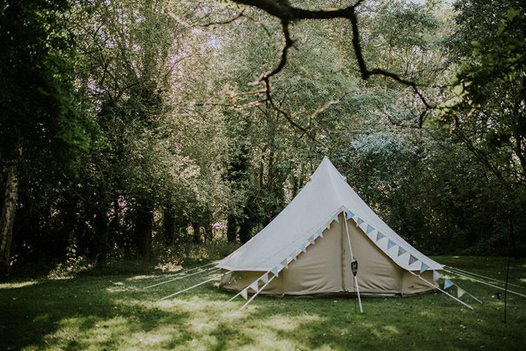 Bell Tent Beautiful Classic English Countryside Wedding http://jenmarino.com/
