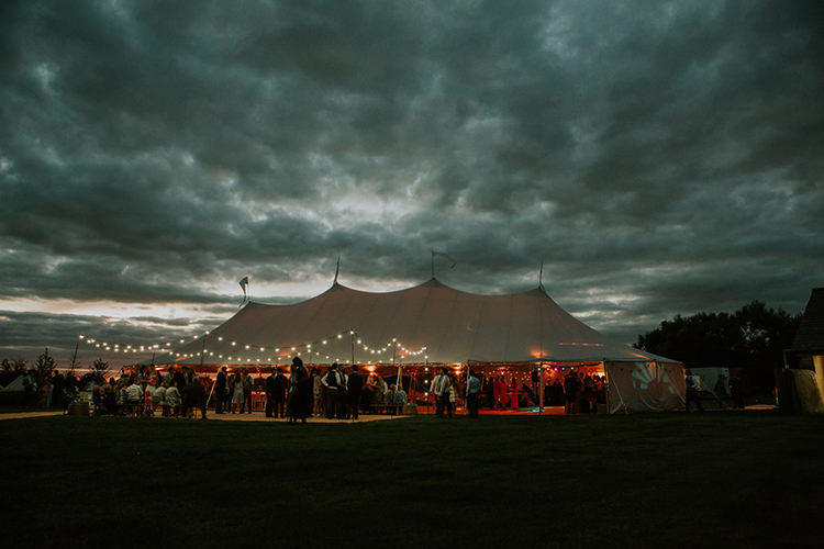 Marquee Festoon Lights Beautiful Classic English Countryside Wedding http://jenmarino.com/