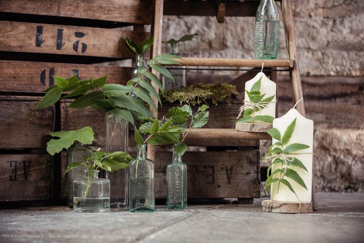 Organic Foliage Rustic Wedding Ideas http://www.sarahvivienne.co.uk/