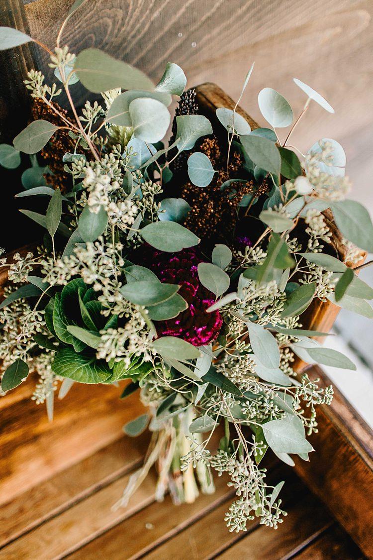 Fresh Wild Floral Eucalyptus Bouquet Whimsical Boho Outdoor Wedding Alabama http://belightphotography.com/