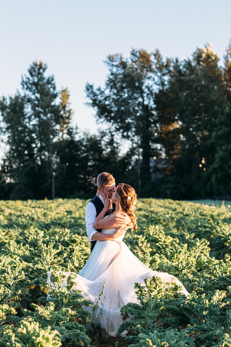 Organic Farm Wedding Washington http://www.katiedayphotos.com/