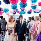 Bright Quirky & Crafty Wedding
