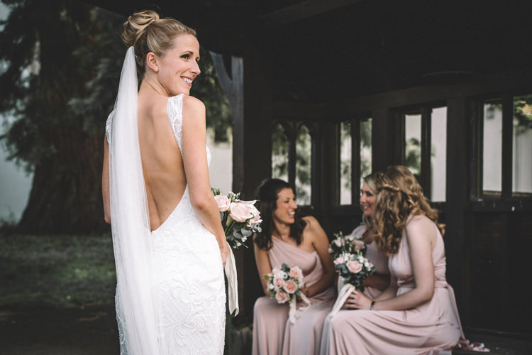 Esther Ronald Joyce Backless Gown Dress Bride Bridal DIY Summer Rustic Country Wedding http://www.danielakphotography.com/