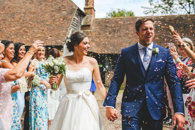 Confetti Throw Stylish Relaxed Fun White Wedding http://www.livvy-hukins.co.uk/