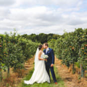 Stylish & Relaxed Fun White Wedding