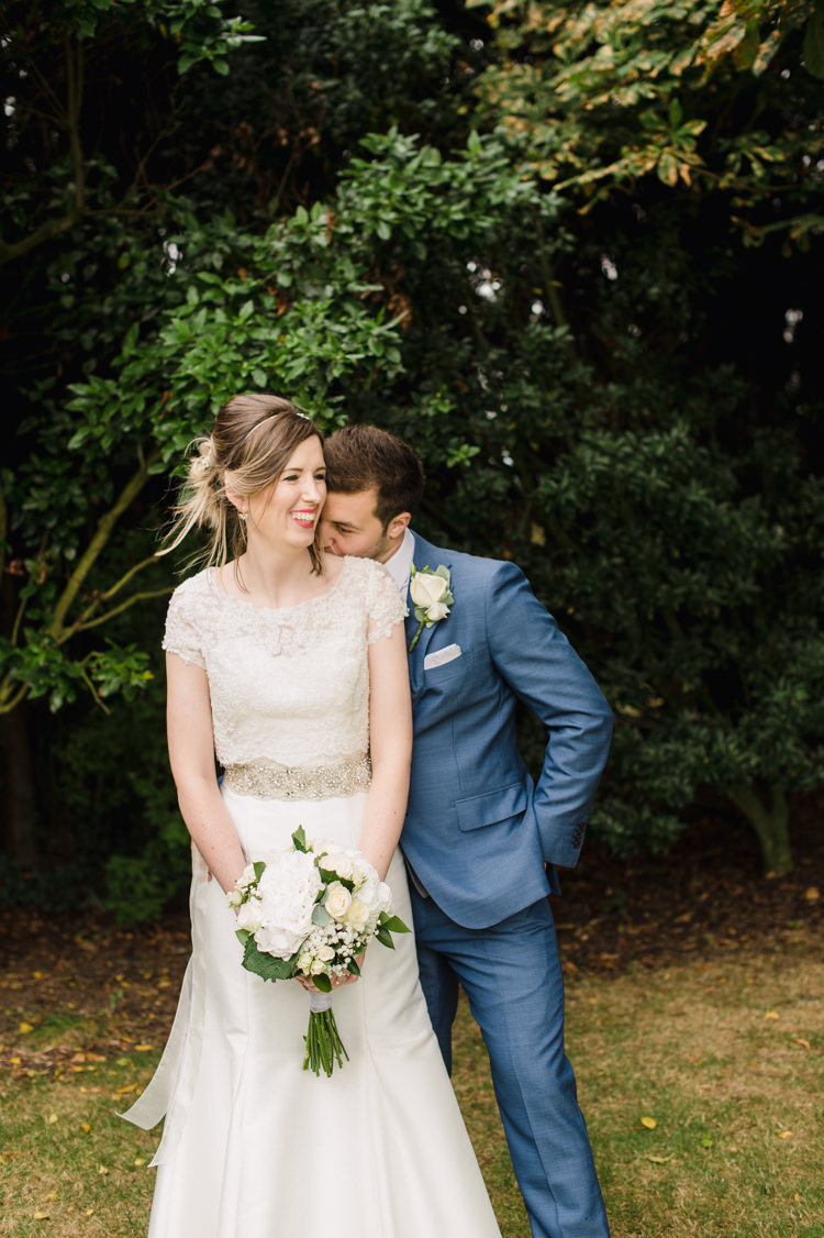 So Sassi Sassi Holford Dress Gown Bride Bridal Simple Elegant Pretty Barn Wedding http://www.fayecornhillphotography.co.uk/