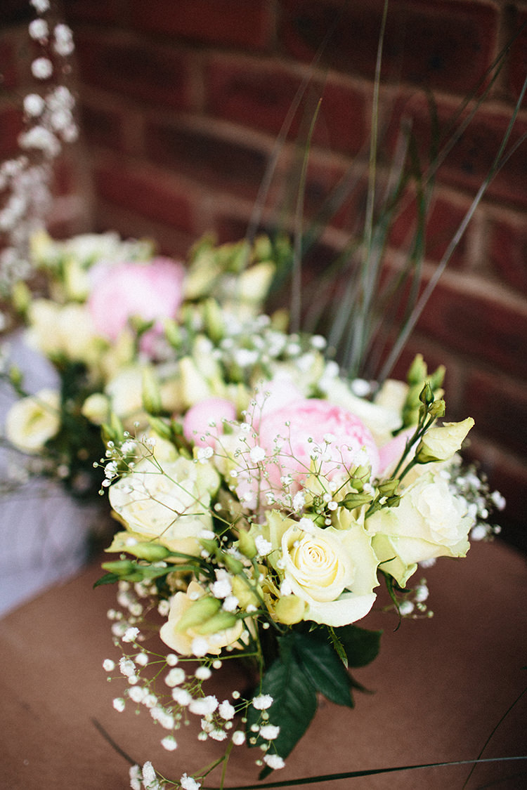 Peony Rose Bouquets Soft Springtime Countryside Wedding http://www.claudiarosecarter.co.uk/