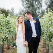 Fresh Bohemian Vineyard Wedding