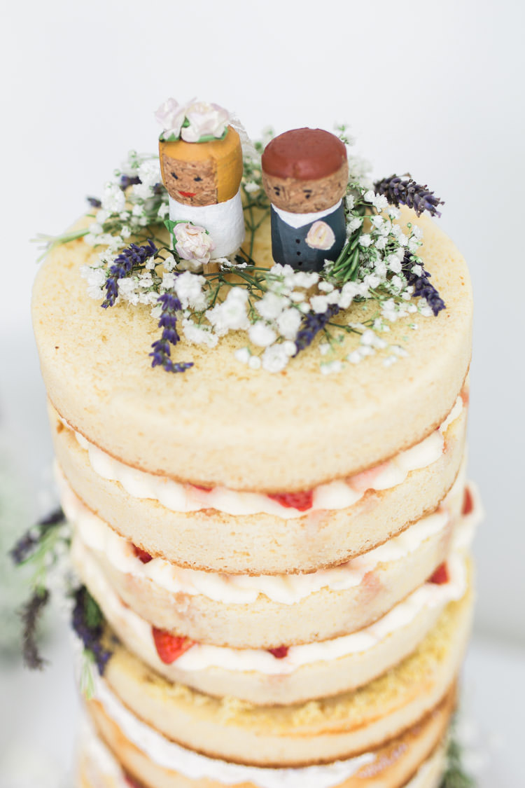Cork Cake Toppers Bohemian Vineyard Wedding http://www.gemmagiorgio.com/