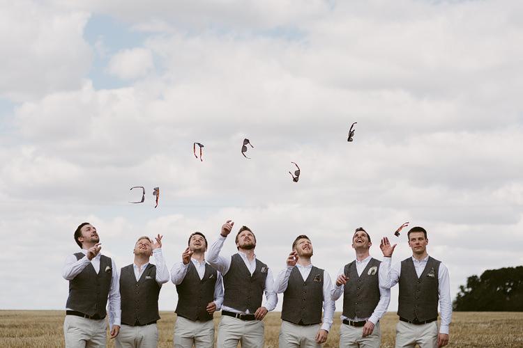 Waistcoat Chinos Groom Groomsmen Bohemian Outdoor Blessing Garden Wedding http://www.lukehayden.co.uk/