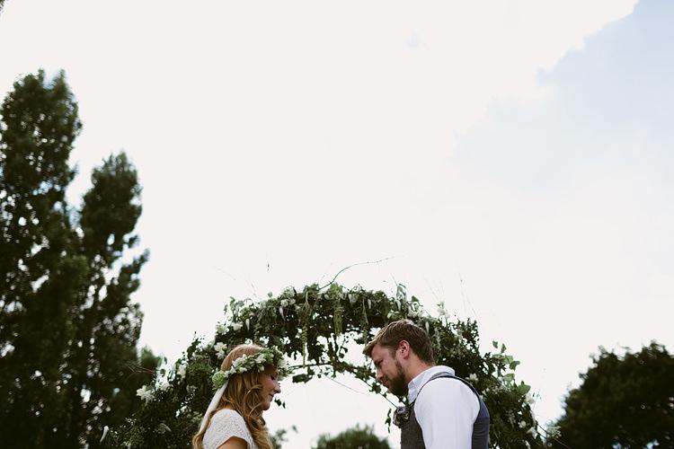 Bohemian Outdoor Blessing Garden Wedding http://www.lukehayden.co.uk/