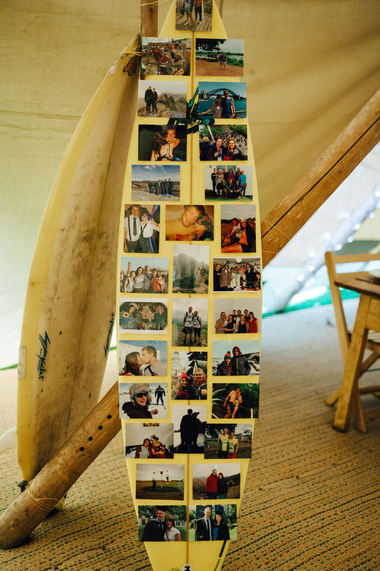 Surf Board Photographs Colourful Home Made Garden Wedding http://www.maytreephotography.co.uk/