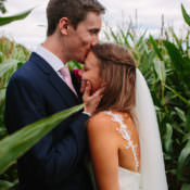 Mismatched Berry Summer DIY Wedding