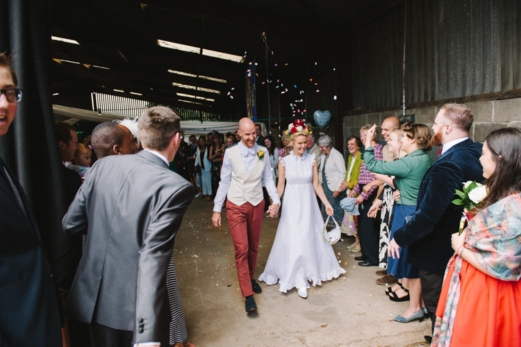 Confetti Artistic Creative Colourful Farm Wedding http://www.mustardyellowphotography.com/