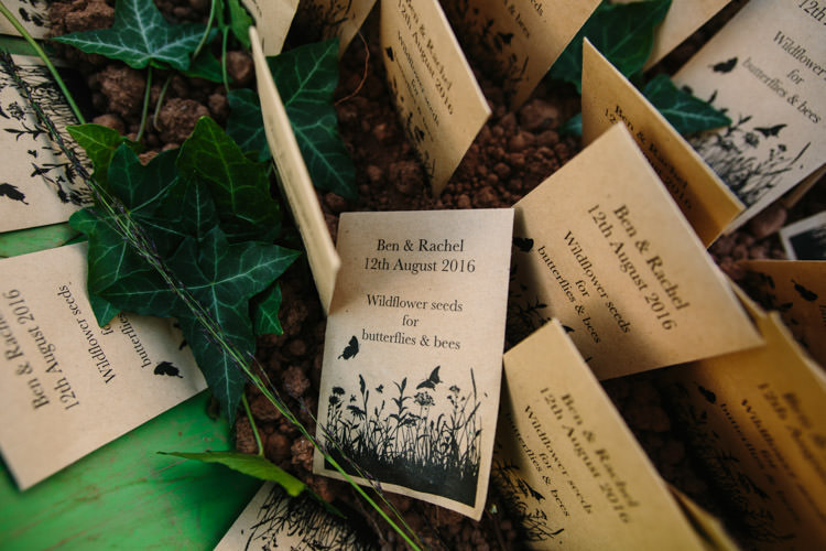 Seed Favours Mismatched Berry DIY Wedding http://www.colinianross.com/