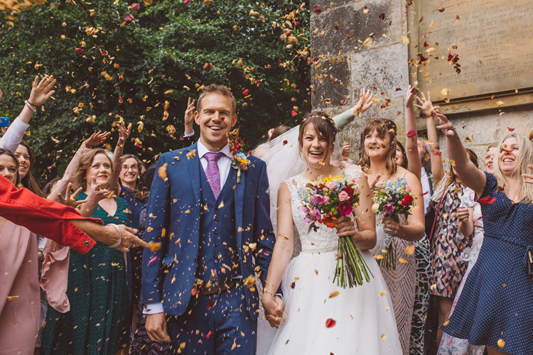 Petal Confetti Colourful Home Made Garden Wedding http://www.maytreephotography.co.uk/