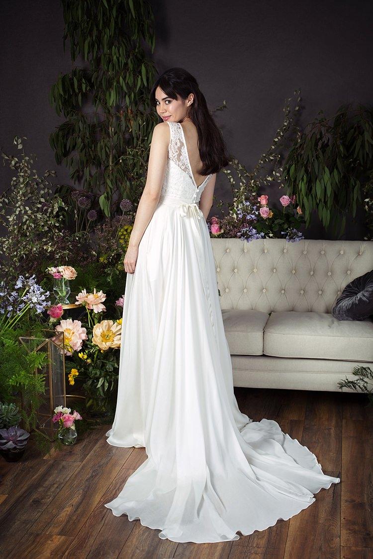 Adele with Silk Sash Naomi Neoh 2017 Eden Wedding Bridal Dress Collection