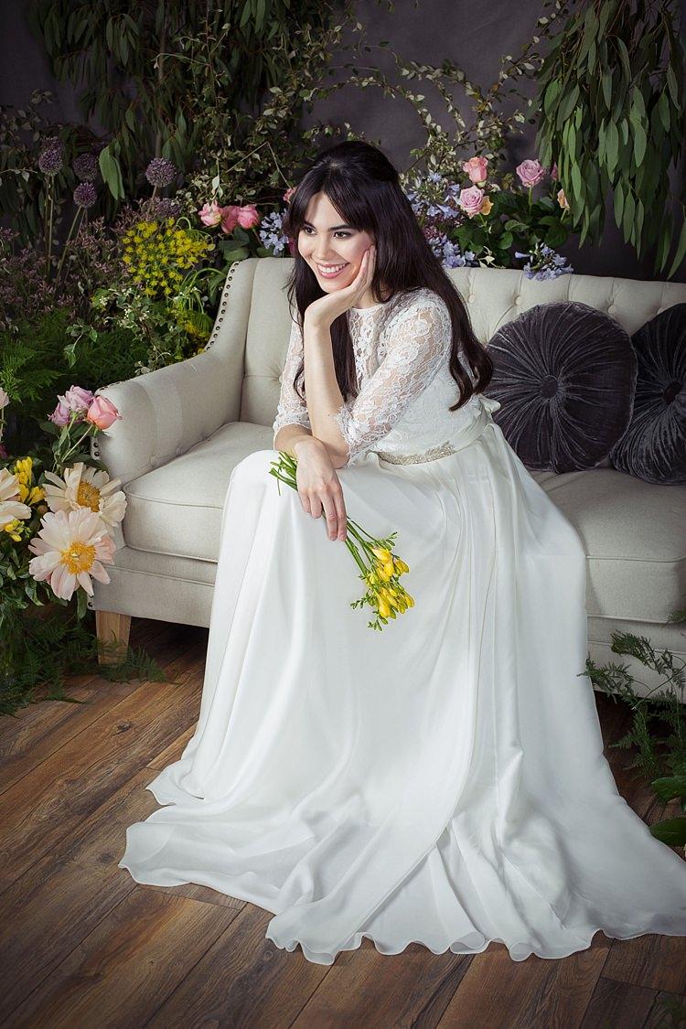 Ayla with Ayla Jacket & Ginko Belt Naomi Neoh 2017 Eden Wedding Bridal Dress Collection