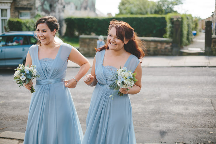 Bridesmaid Dresses Home Made Vintage Pale Blue Wedding http://www.elliegracephotography.co.uk/