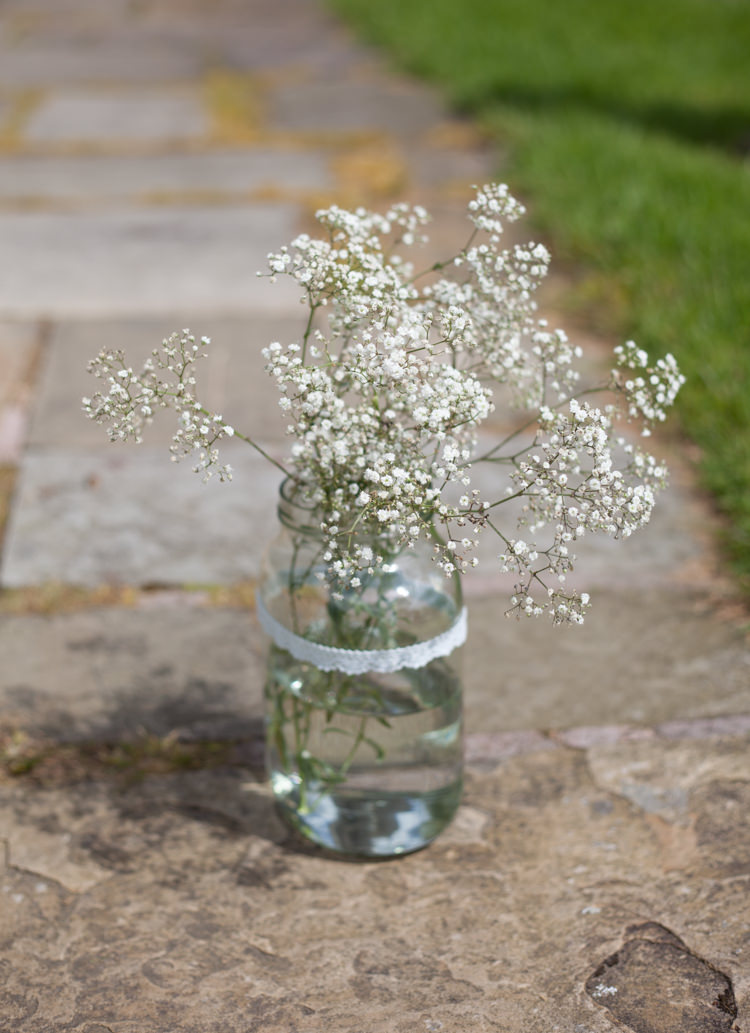 Gyp Gypsophila Baby Breath Jar Flowers Pastel Marquee Garden Party Wedding https://www.deliciousphotography.co.uk/