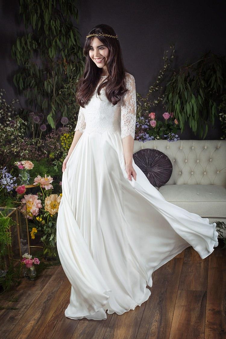 Gwen with Gwen Jacket Naomi Neoh 2017 Eden Wedding Bridal Dress Collection