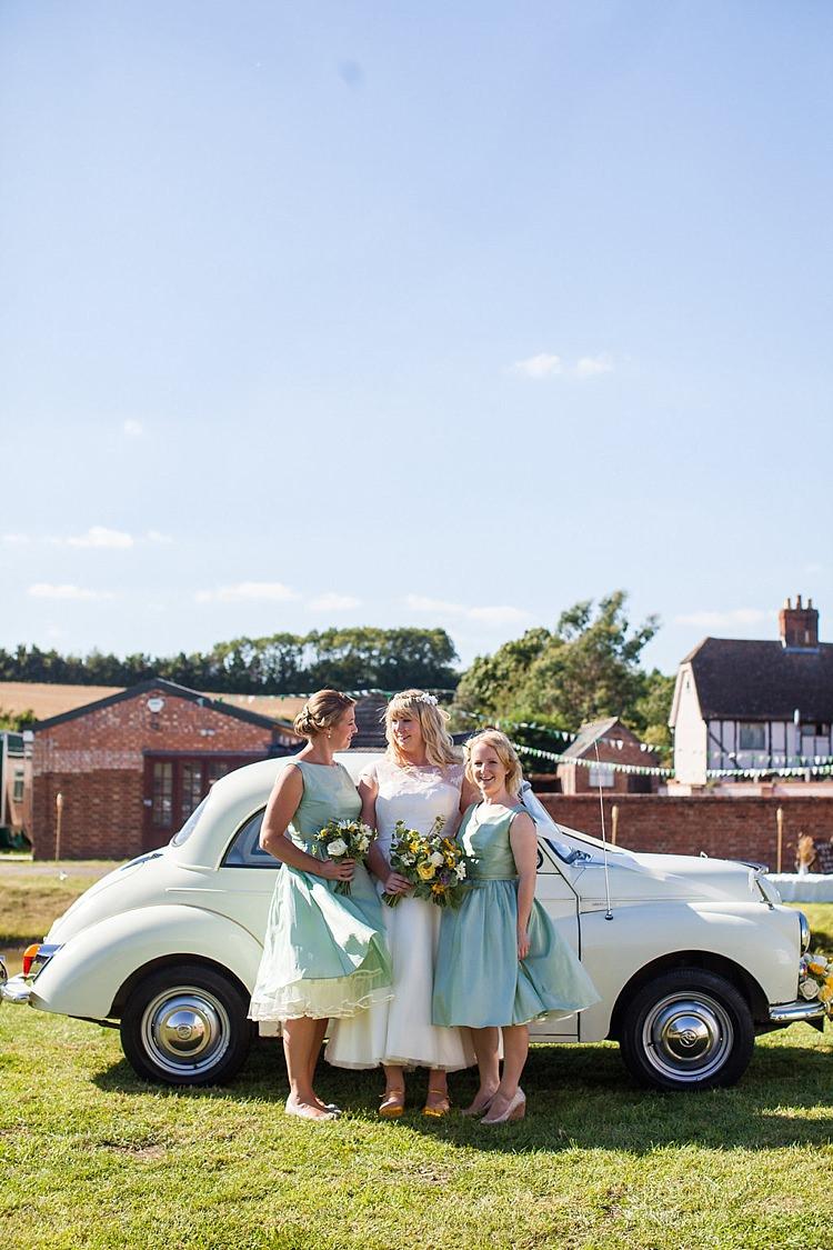 Sage Green Prom 1950s Bridesmaid Dresses Pretty Outdoorsy Yellow Tipi Wedding http://www.binkynixon.com/