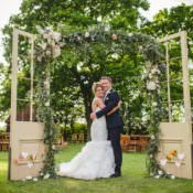 Magical & Fun Outdoor Barn Wedding