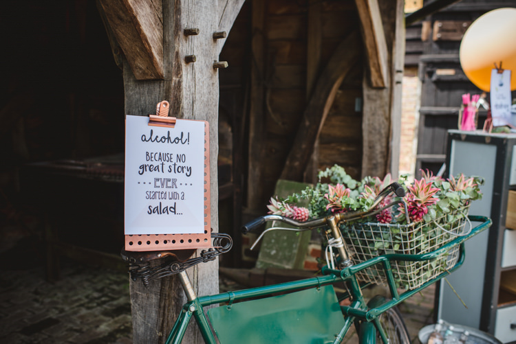 Sign Quote Magical Fun Outdoor Barn Wedding http://www.sophieduckworthphotography.com/