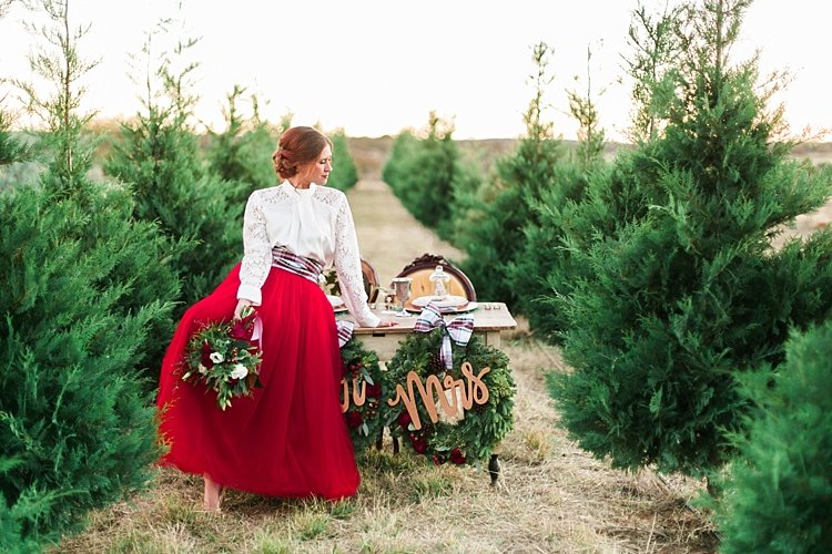 Christmas Tree Farm Weddings.Christmas Wedding Ideas Whimsical Wonderland Weddings Part 2