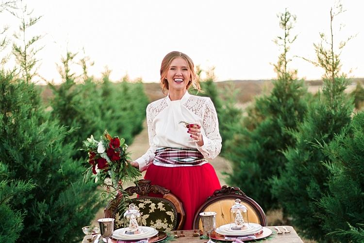 Christmas Tree Farm Wedding Ideas http://loriblythe.com/