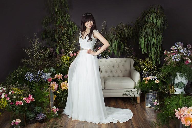 Margot with Marlene Belt Naomi Neoh 2017 Eden Wedding Bridal Dress Collection