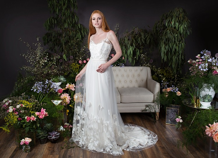 Poppi Camisole & Poppy Skirt Naomi Neoh 2017 Eden Wedding Bridal Dress Collection