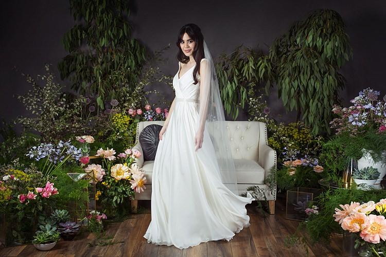 Saffron with Pearl Belt Naomi Neoh 2017 Eden Wedding Bridal Dress Collection