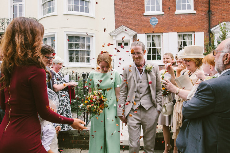 Confetti Small Vintage City Wedding http://www.sarahlondonphotography.co.uk/