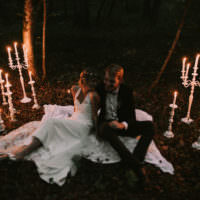 Organic Woodland Elopement Wedding Ideas http://www.mariemarryme.com/