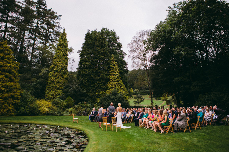 Coverwood Lakes Surrey Ceremony Colourful Outdoorsy Tipi Wedding http://amybphotography.co.uk/