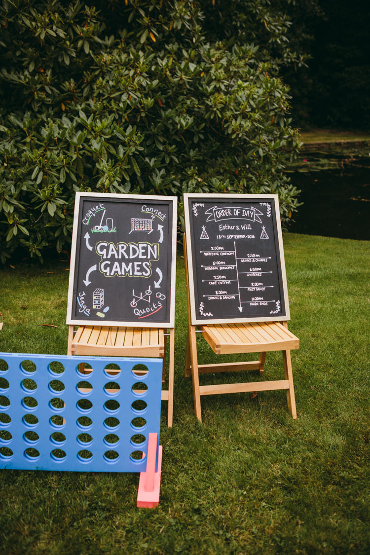 Garden Games Fete Colourful Outdoorsy Tipi Wedding http://amybphotography.co.uk/
