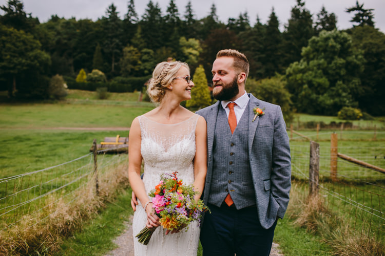 Ted Baker Groom Grey Jacket Waistcoat Colourful Outdoorsy Tipi Wedding http://amybphotography.co.uk/