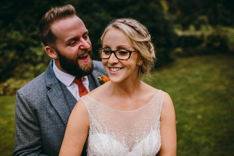 Bride in Glasses Colourful Outdoorsy Tipi Wedding http://amybphotography.co.uk/