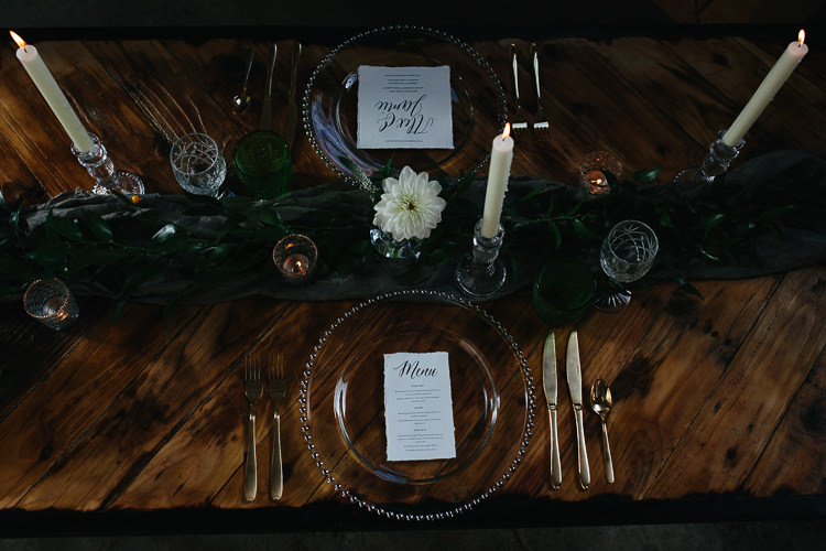Candle Decor Table Scape Rustic Industrial Warehouse Wedding Ideas http://www.timdunk.com/