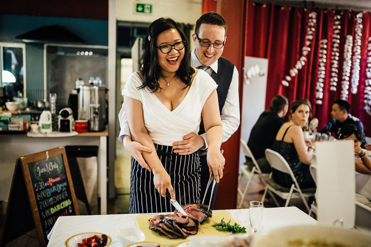 Intimate Urban Foodie Wedding http://www.beatriciphotography.co.uk/