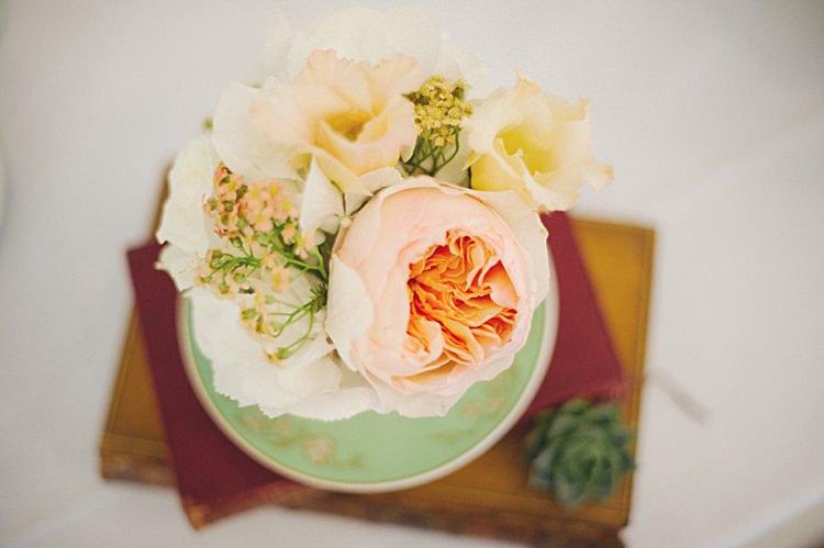 Rose Flowers Natural Peach Garden Wedding http://www.juliaandyou.co.uk/