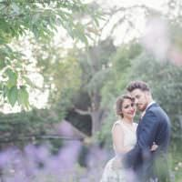 Natural Peach Garden Wedding http://www.juliaandyou.co.uk/
