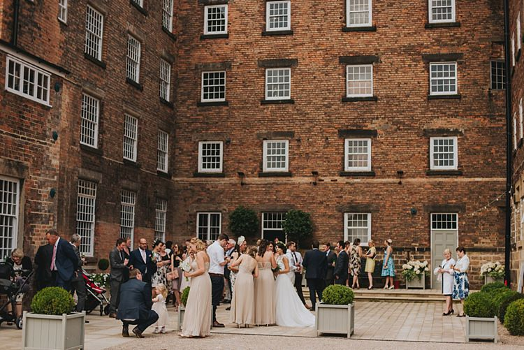 Industrial Cool Mill Greenery Wedding http://www.beckyryanphotography.co.uk/