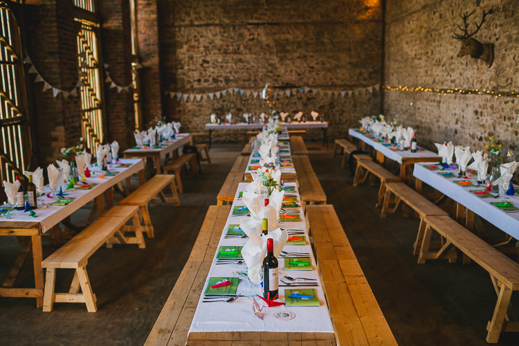 Long Tables Barn Hand Crafted Camp Woodland Wedding http://bloomweddings.co.uk/