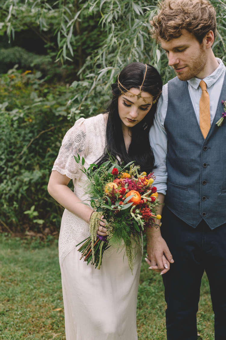 Boho Gypsy Vintage Circus Wedding Ideas http://www.oakwoodphotography.com/