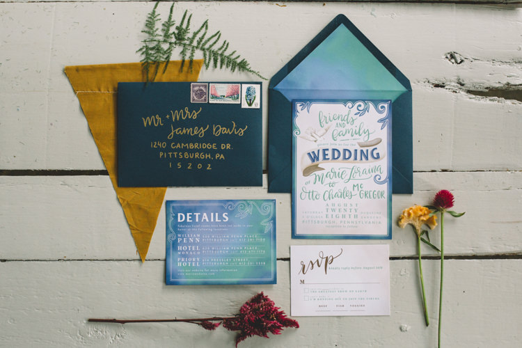 Stationery Invitations Boho Gypsy Vintage Circus Wedding Ideas http://www.oakwoodphotography.com/